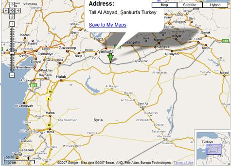 Map Tall alAbya
