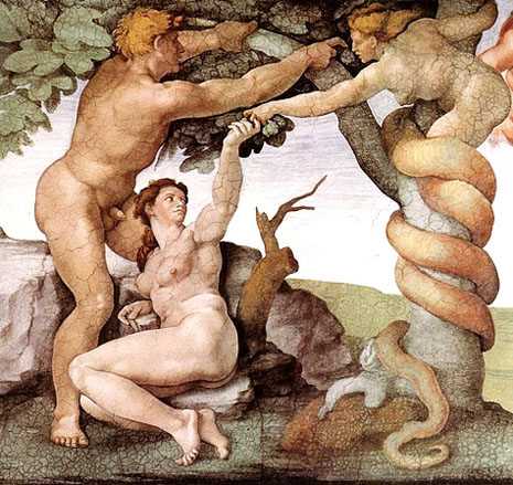 Apple-Adam-Eve