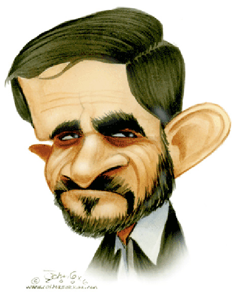 After all Ahmadinejad did his job