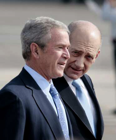 Bush Olmert 9.1.2008