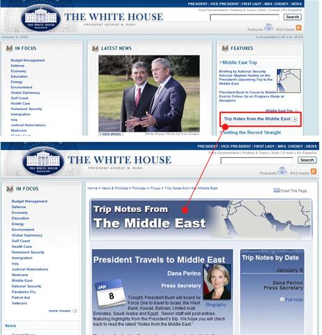 Bush;sblog
