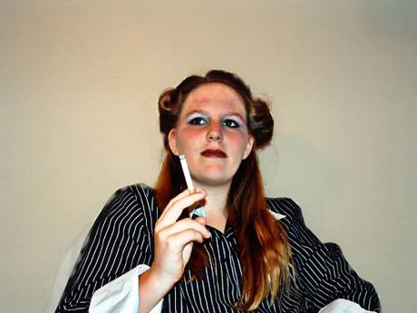 Happy womensmoker