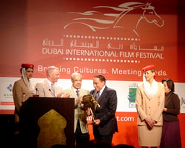 "From the Egyptian movie, ""The Embassy Is in the Building"". Dubai International Film Festival"