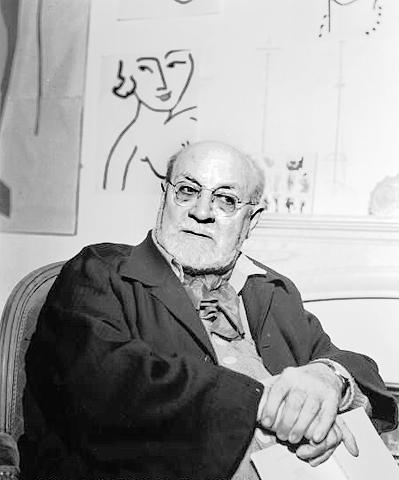 Henri Matisse circa1950
