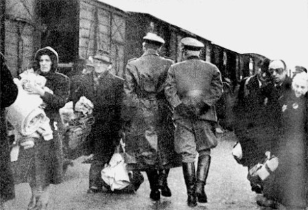 Transport Jews Lodz 1942
