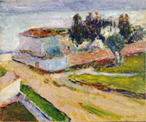 Landscape, the Pink Wall