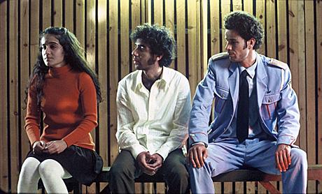 Saleh Bakri as Haled Shlomi Avraham as Papi and Rinat Matatov asYulakkk