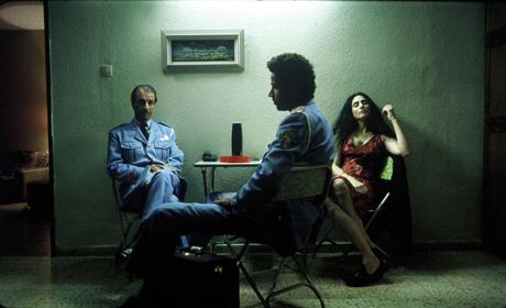 Sasson Gabai as Tewfiq Ronit Elkabetz as Dina and Saleh Bakri asHaled