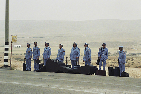 "From the Israeli movie, ""The Bands Visit""."