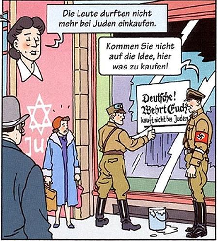 1933 - Nazis stage boycott of Jewish shops andbusinesses