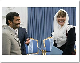 Swiss minister meets with Ahmadinejad Photo, Reuters