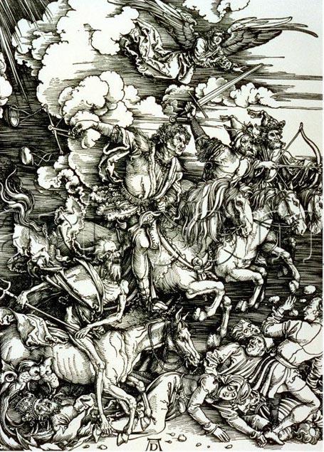The Four Men of the apocalypse, AlfredDurer