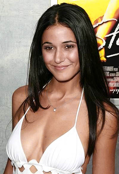 "Emmanuelle Chriqui (""Zohan"" with Adam Sandler)"