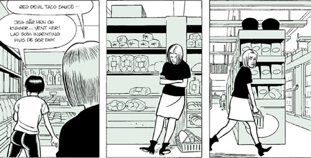'Ghost World',Clowes