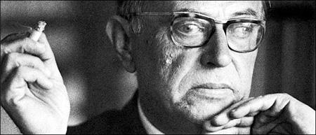 Jean-Paul Sartre, 1970.
