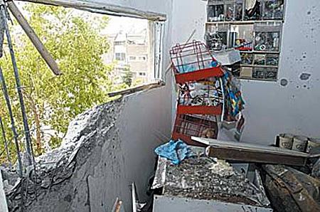 Hamas rockets on Sderot