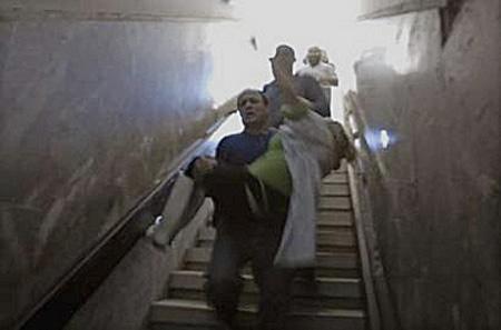 Sderot, Hamas rockets attack on civilians.