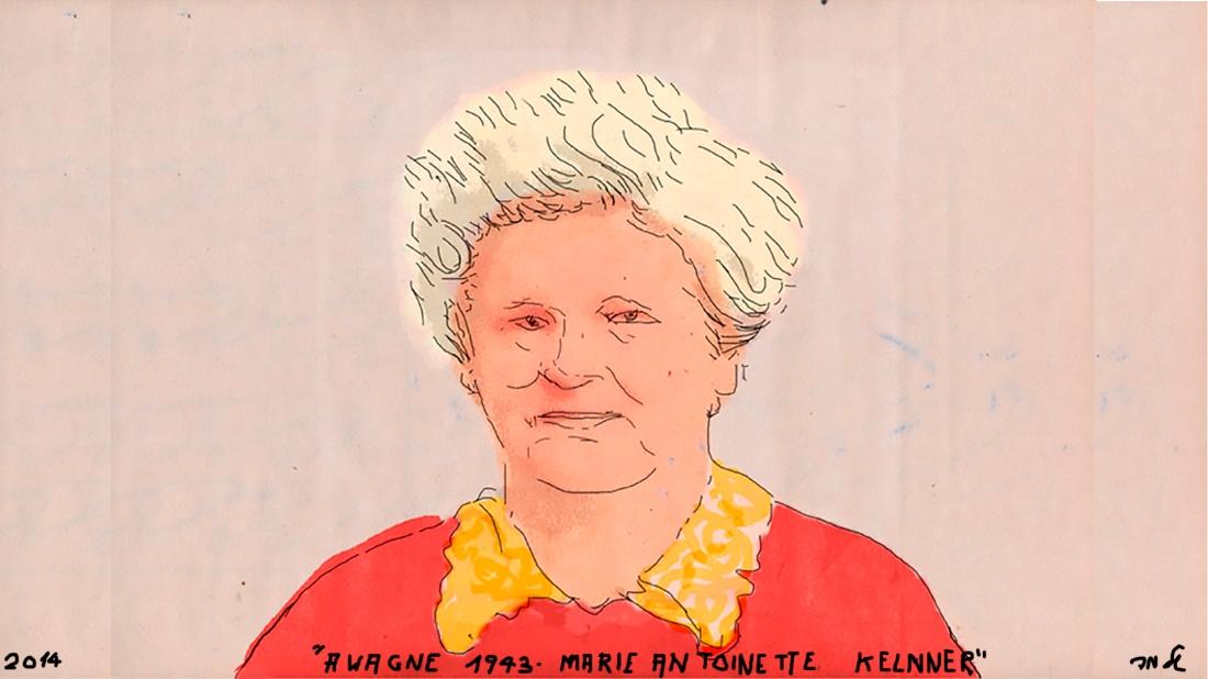 Marie Antoinette Kelnner Awagne 1943