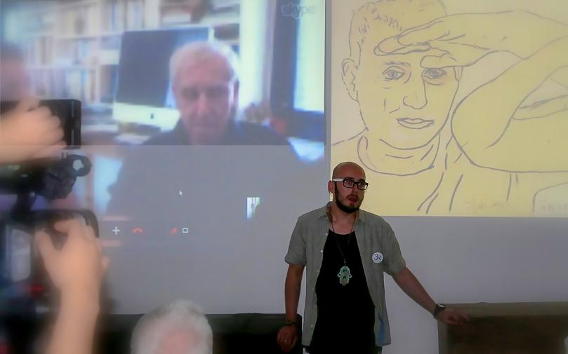 Interview,http://muzeumzdunskawola.blogspot.co.il/2014/07/festiwal-3k-fotonotatnik.html