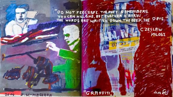 News, Graffiti, Poem...