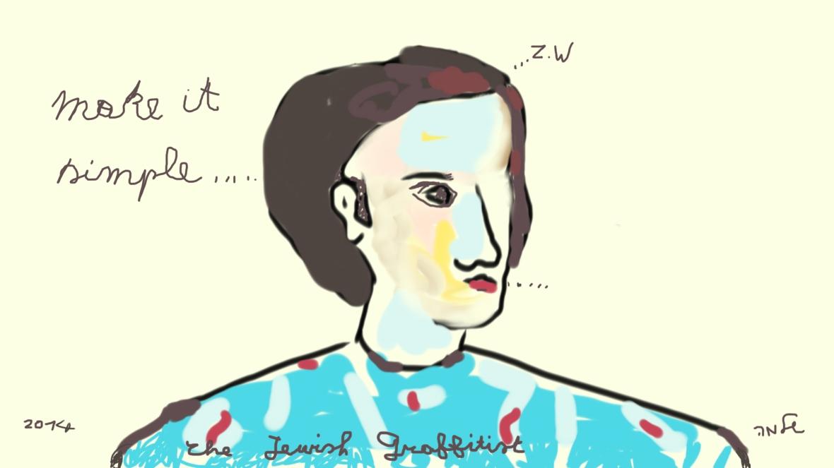 The Jewish Graffitist in Zdunska Wola