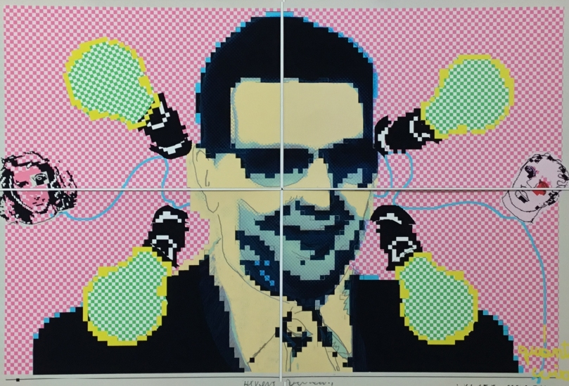 Mr. Decraen....pixels as the new image for art today